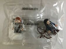 Official Lego Hobbit Bard the Bowman & Exclusive Bain Minifigures LOTRDVDBD3-1