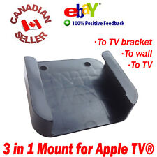 Mounting bracket for Apple TV 2 3 To wall, To TV or To TV Bracket FAST SHIPPING