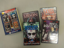 House on Haunted Hill/Mutant/Moon of The Wolf/Fangs of The Living Dead/Used/DVD
