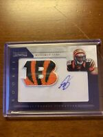 2012 Prominence Mohamed Sanu Rookie Patch Auto  /140 Card #234