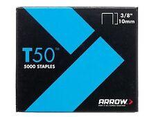 Arrow T50 Staples 10mm 3/8in BULK Pack 5000