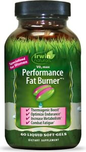 V02 Max Performance Fat Burner by Irwin Naturals, 60 softgels