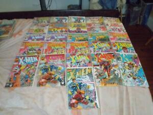 Lot of 26 Marvel Comics X-Men Comic Books