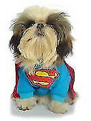 Official DC Comics Superman dog costume shirt FOR XSMALL - XXLARGE DOGS - New