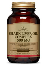 Shark Liver Oil 500mg Solgar 60 Softgel