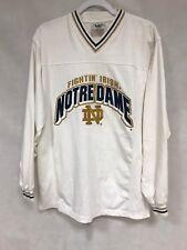 Vintage Men's MEDIUM M  Notre Dame Fighting Irish   knit jersey Lee Sport