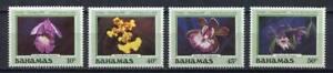 28418) BAHAMAS 1987 MNH** Nuovi** Flowers Fiori 4v
