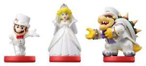 Super Mario Odyssey Wedding Amiibo Nintendo Variations In Box USA Version