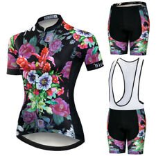 Women Racing Cycling Jersey Set Summer MTB Bicycle Coolmax 3D Gel Paded Shorts