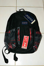 Official Brand New with tags JanSport Node laptop Backpack 27L black/red