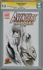 AVENGERS INVADERS #3 ALEX ROSS VARIANT CGC 9.8 SIGNATURE SERIES SIGNED STAN LEE