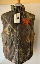 Mossy Oak Breakup Insulated Hunting Vest Port Authority Size Medium Original Tag