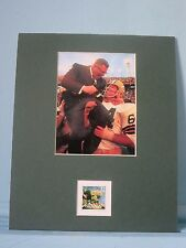 The Green Bay Packers win Super Bowl II & the Green Bay Packers stamp