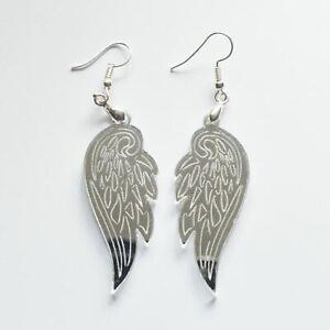 Angel Wings Acrylic Earrings