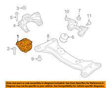 BMW OEM 12-15 335i-Engine Motor Mount/Torque Strut 22116787659