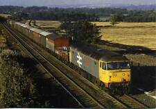 Railfreight Class 47 47337 HERBERT AUSTIN Plawsworth Durham 1986 photo postcard
