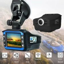 2in1 Radar Laser Speed Detector Car DVR Recorder Video Dash Camera  Night Vision