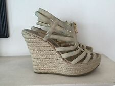 Jimmy Choo Suede Wedge 38 UK5