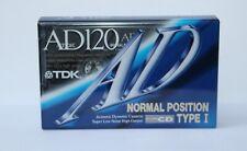 More details for tdk ad 120 type 1 cassette sealed japan 1992