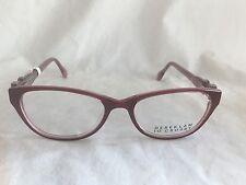 NEW Derek Lam 10 Crosby Cat Eye Eyeglasses Frame 551 Red Pink w Case 51-16