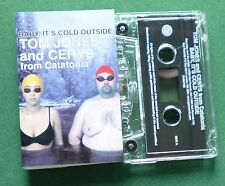 Tom Jones & Cerys from Catatonia Baby It's Cold.. Cassette Tape Single - TESTED