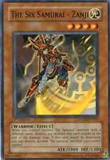 3X The Six Samurai - Zanji STON-EN011 / 1ST EDITION / MINT! / YU-GI-OH