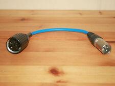 Adaptador Tuchel großtuchel-XLR azul para Sennheiser md421 md441, entre otros,