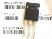 SD20N60 - Power MOSFET Transistor by Infineon LOT OF 8