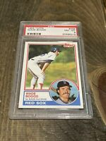 1983 Topps # 498 Wade Boggs Rookie PSA 8 NM-MT🔥