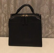 Karen Millen LTD Edition Blue Cross Body Leather Hand Box Grab Bag GX134 New