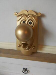 ALICE IN WONDERLAND USED FIXING DOOR KNOB CHARACTER with fixing screws