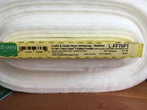 Legacy Flex Foam Flexible Stabiliser Single Sided FUSIBLE per metre