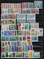 TURKEY 1964 66 COLLECTION OF 56 COMPLETE SETS MINT LIGHT HINGED PLUS 2 SETS USED