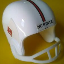 1990 NCAA Vintage North Carolina State Wolfpack mini gumball football helmet old