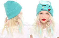 NEW Adventure Time With Finn and Jake: BMO Beemo Watchman Knit Beanie Hat Cap