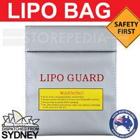 LIPO BAG Safe CHARGING RC Battery Guard SAFETY Fireproof Satchel NiMH Li-Po AU