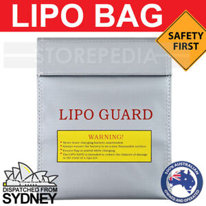 LIPO BAG Safe CHARGING RC Battery Guard SAFETY Fireproof Satchel NiMH Li-Po AU