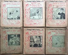 6 X YOUNG FOLK'S TALES Fairy Stories WW1 CHILDREN'S MAGAZINE James Henderson