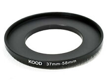 37mm  to 58mm 37-58  Stepping Ring Filter Ring Adapter Step up
