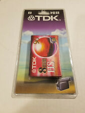 TDK 8mm HS 90 Camcorder Video Cassette P5-90HSEN - Sealed