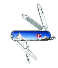 Victorinox Swiss Army Key Chain Knife Classic Ltd Ed -  Matterhorn - Free Ship