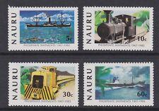 NAURU 1982 Phosphate shipments MINT SET sg267-270 MNH