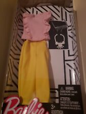 Barbie Doll Fashion Pack New Pink top & Yellow pants