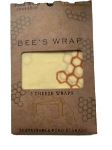 Bee's Wax Wrap 3 Pack Cheese Wrap