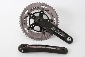 USED FSA Carbon Pro Crankset 50/39/30 172.5mm Octalink Road Bike