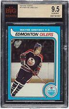 1979 Topps WAYNE GRETZKY Rookie Edmonton Oilers BGS BVG 9.5