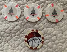 New listing Trump Taj Mahal $1 Casino Chip Qty 3