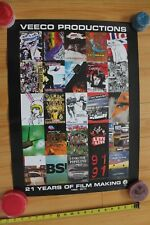 Volcom Stone 21 Years of Film Making Poster Skateboarding Movies 18x24in. Poster