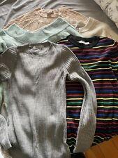 Maternity Bundle Jumper Size 8 Size 12 Pink Black 5 Jumpers