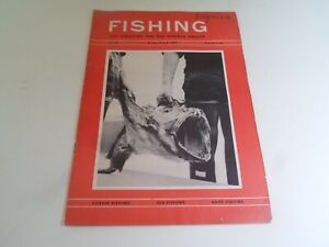 Vintage 8th May 1964 FISHING The Magazine For The Modern Angler+Advertising